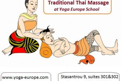Thai Massage for Relaxation at Yoga Europe